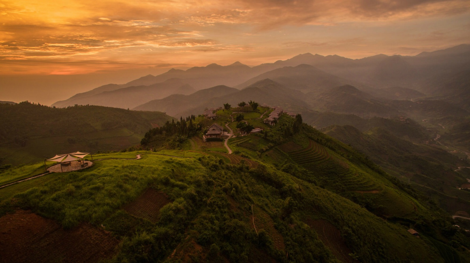 How To Use Remote Start >> Idyllic ecolodge tucked into remote Vietnamese mountainside is made of locally-sourced granite ...