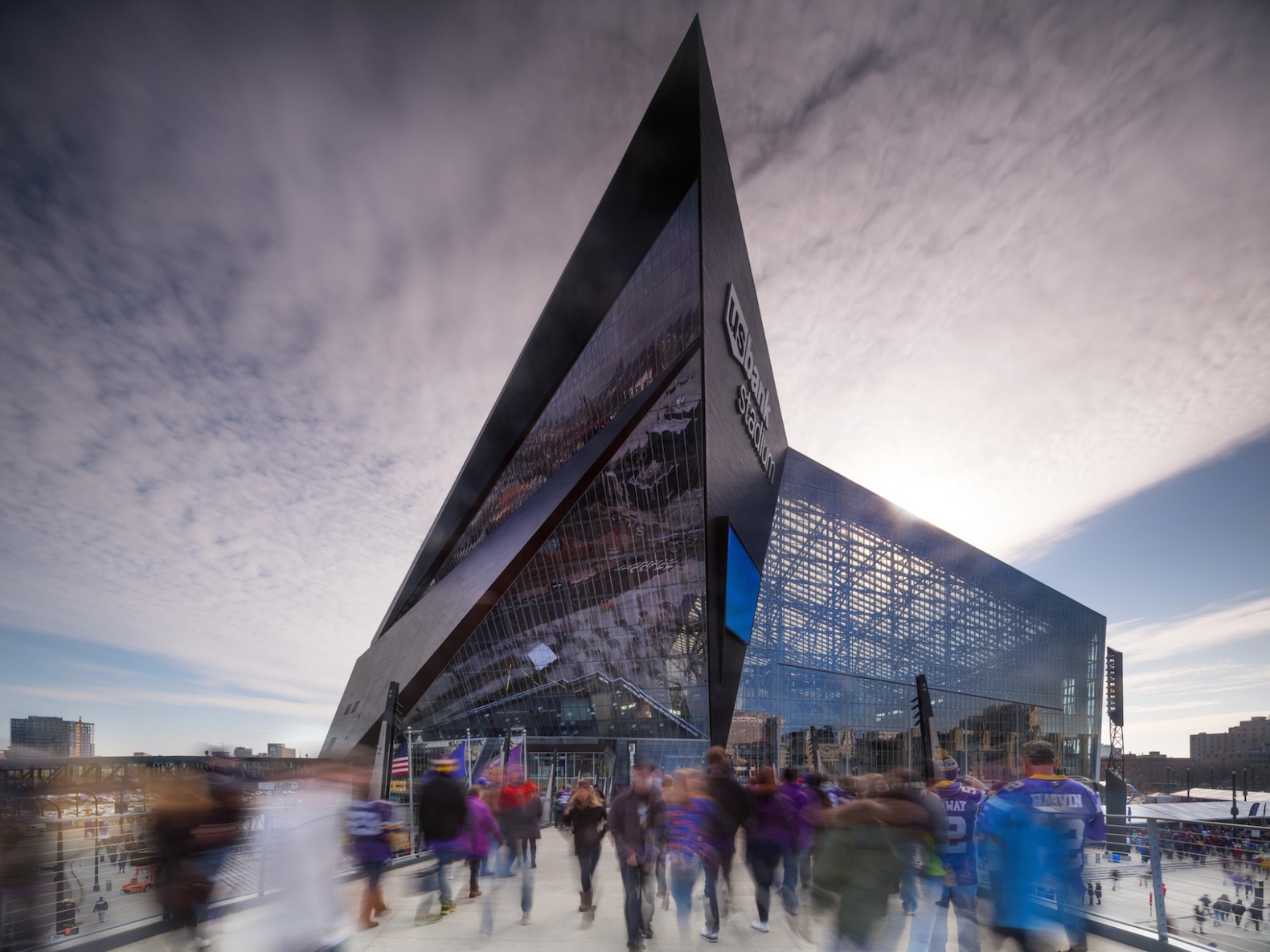 The 2018 Super Bowl stadium in Minnesota offsets 100% of its energy