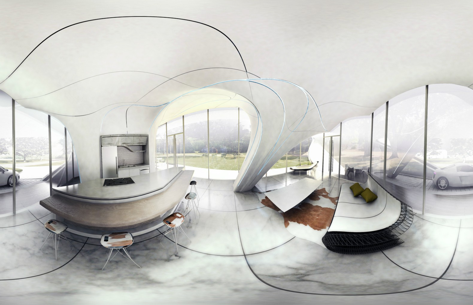 Chinese Company Assembles 10 3D-Printed Concrete Houses in a Day for ...