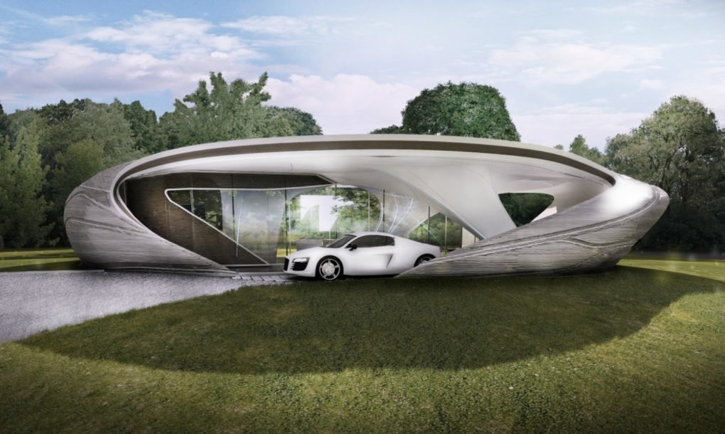World 39 s first freeform 3d printed house to break ground - How to get a 3d printed house ...