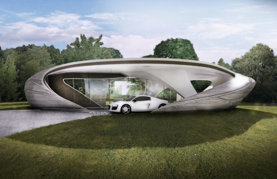World 39 s first freeform 3d printed house to break ground for 3d printed model house