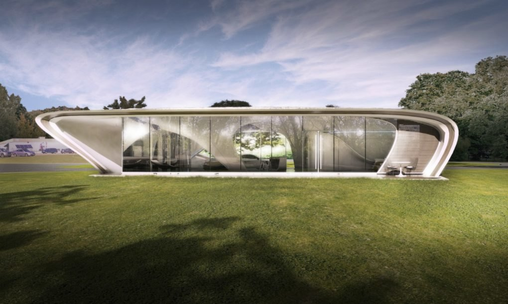 World 39 s first freeform 3d printed house to break ground for Case futuristiche