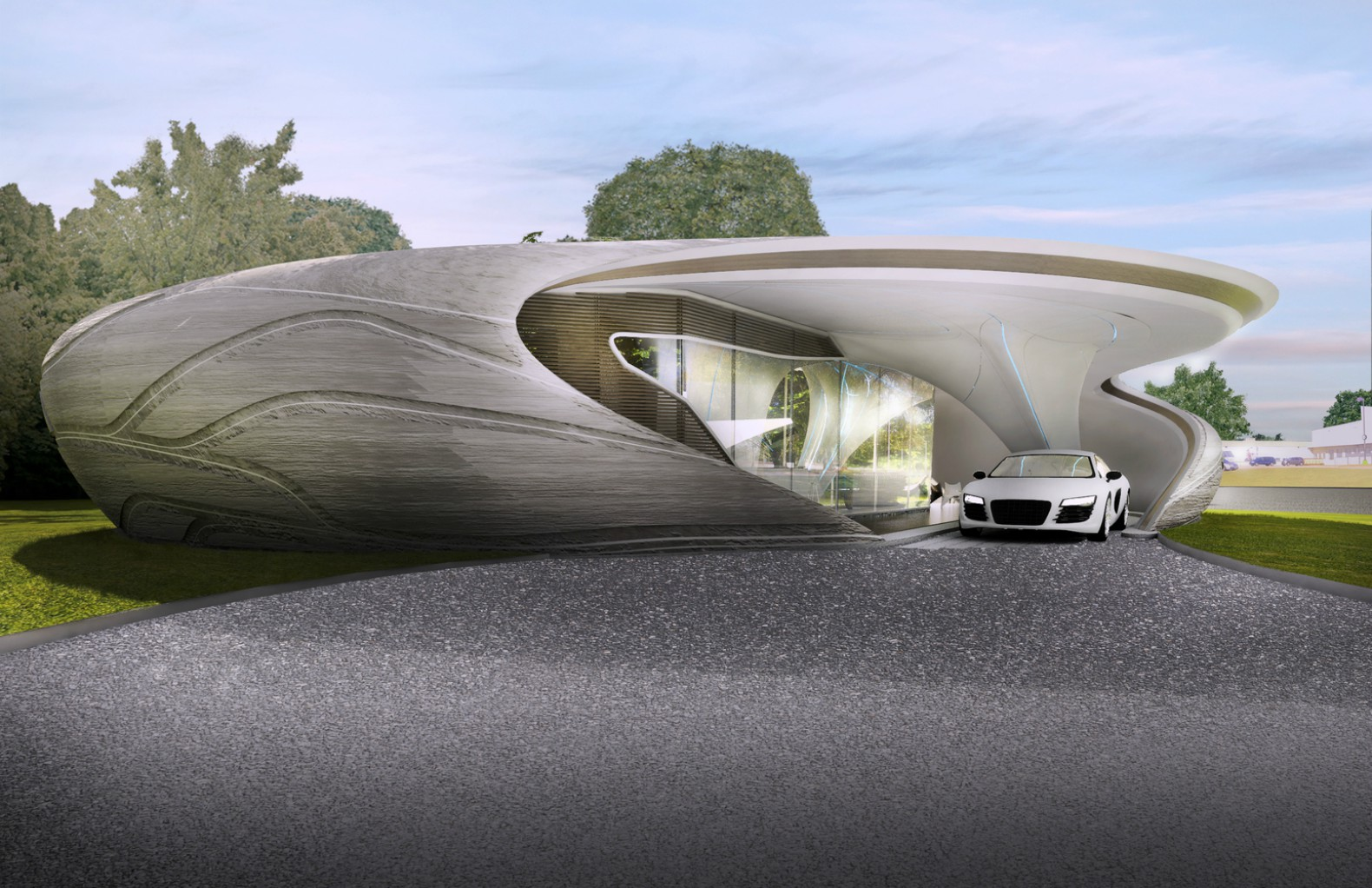 World 39 s first freeform 3d printed house to break ground for 3d printed house model
