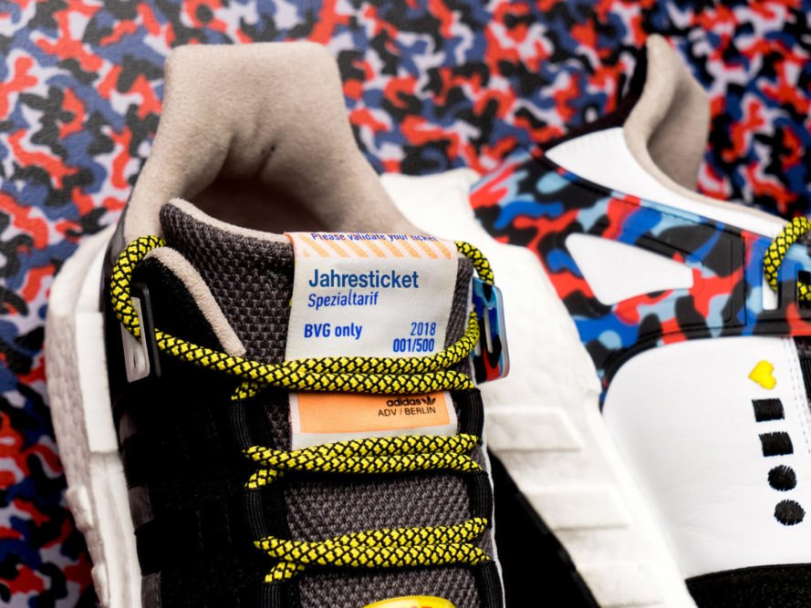 BVG, Adidas, Overkill, Berlin, public transport, subway, eco-friendly shoes, sustainable shoes, eco-friendly sneakers, sustainable sneakers