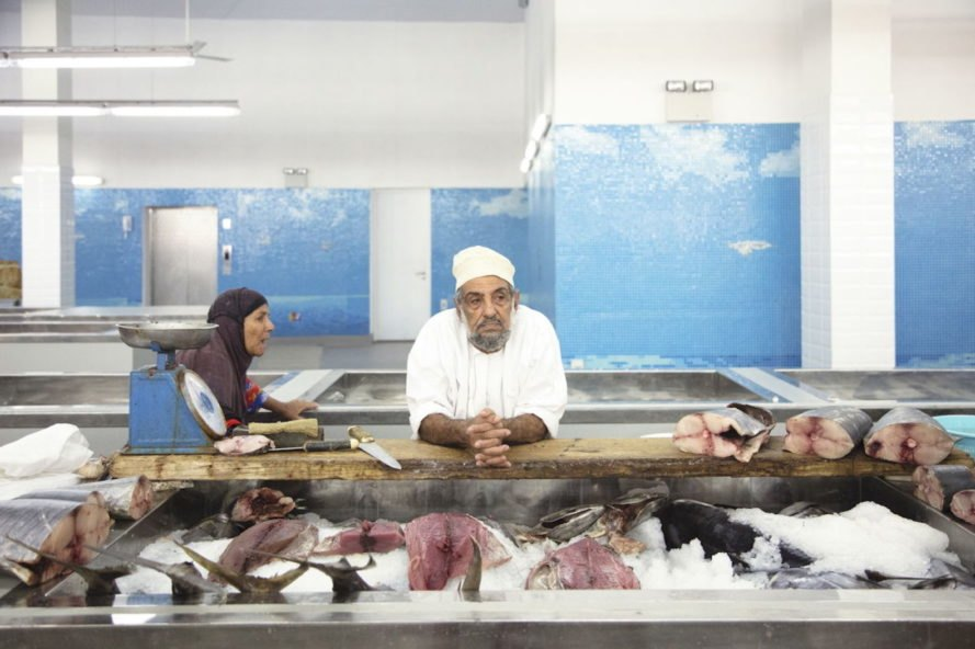 Muttrah Fish Market by Snohetta, Snøhetta fish market, Snøhetta in Oman, Snøhetta public space design, Muttrah Fish Market, Muttrah Fish Market in Oman, fish market architecture, fish market mixed use design, marketplace design by Snohetta