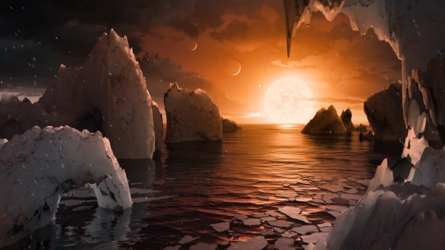 Trappist-1, Trappist 1, habitable planet, water planet, habitable planet Trappist-1