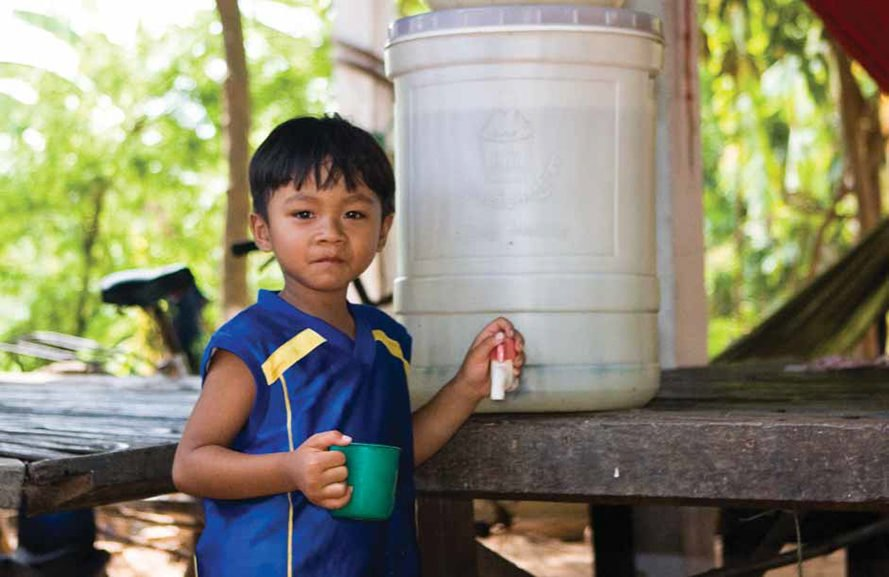 UNICEF, Water and Sanitation Program, Cambodia, ceramic water filters, ceramic water purifier, water filters, clean water