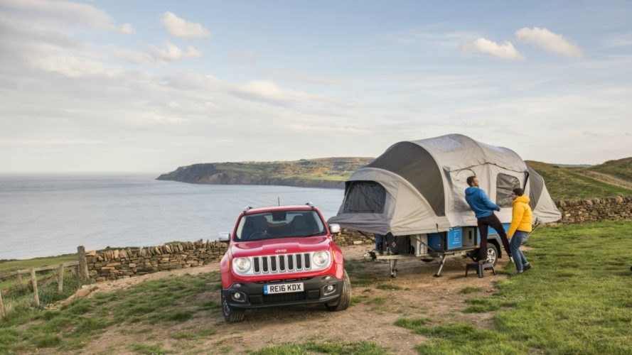 Air Opus Pop-Up Camper's self-inflating pop-up tent