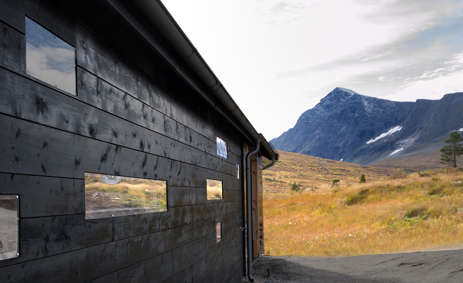 This Rustic Norwegian Cabin Looks Like Four Different
