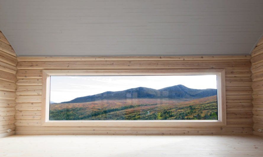 Cabin at Troll's Peak, cabin, Norway, Rever & Drage Architects, green roof, timber frame, timber cladding, traditional building techniques, polycarbonate panels