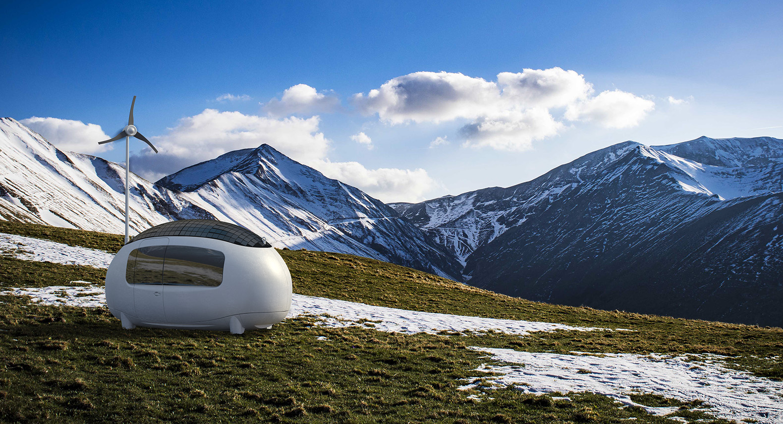 Off-grid Ecocapsule microhomes finally make their international debut