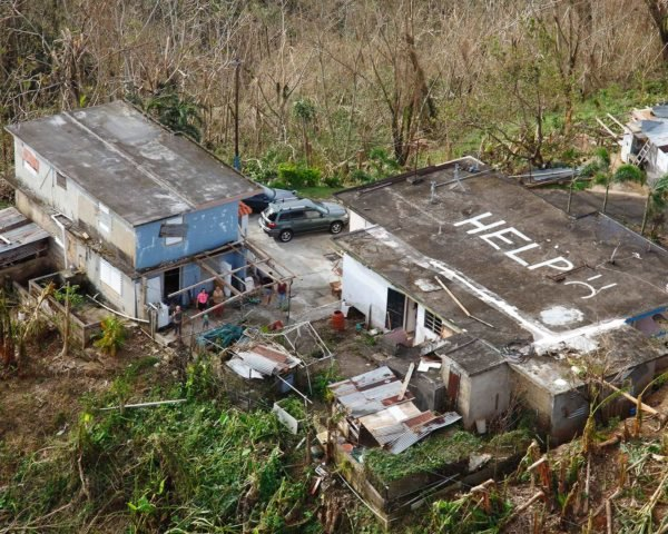 Hurricane Maria, Puerto Rico, natural disaster, destruction, help, ruin