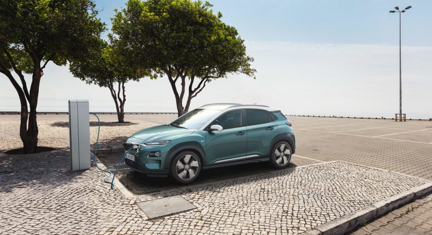 Hyundai, Kona Electric, Hyundai Kona Electric, electric car, electric SUV, car, SUV, EV charging