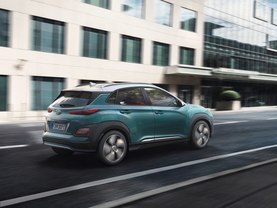 Hyundai, Kona Electric, Hyundai Kona Electric, electric car, electric SUV, car, SUV