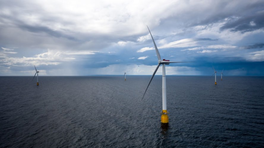 Hywind, Hywind Scotland, wind turbine, wind turbines, floating wind farm, wind farm, offshore wind