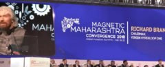 Richard Branson, Virgin Hyperloop One, Maharashtra, signing, conference, hyperloop