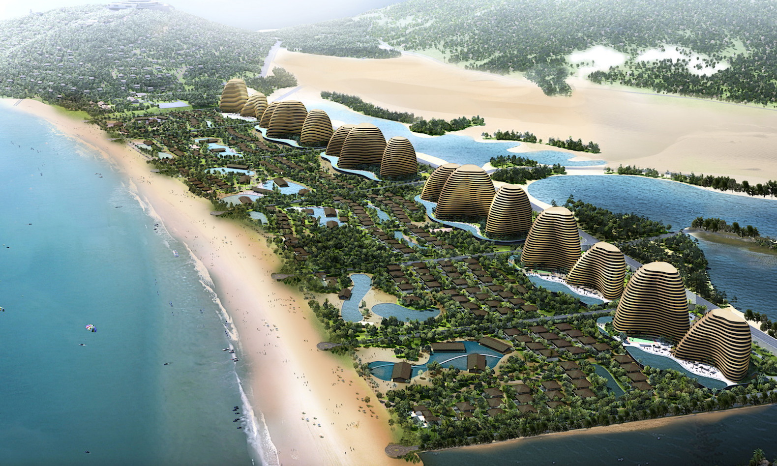 Massive eco-resort with a theme park to rise on Vietnam's beaches