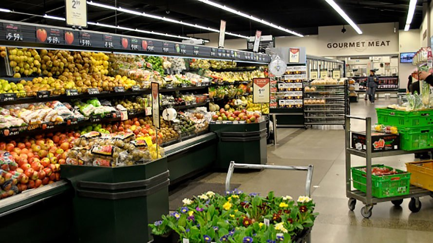 New World, New World Bishopdale, produce, produce section, fruit, vegetables