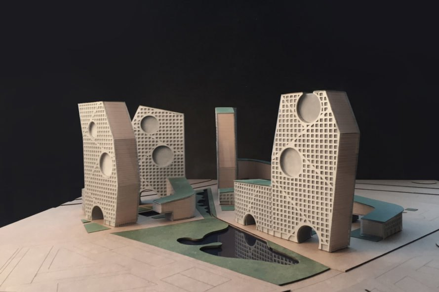 Parachute Hybrids by Steven Holl Architects and Art-group Kamen, Parachute Hybrids, Tushino mixed use development, Tushino design competition, rainwater recycling in mixed use developments, paratrooper airfield redevelopment, Steven Holl and Art-group Kamen