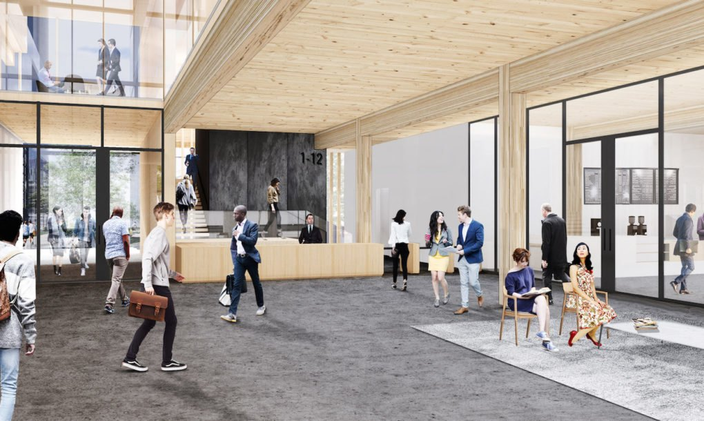The nation's largest timber office building is coming to ...