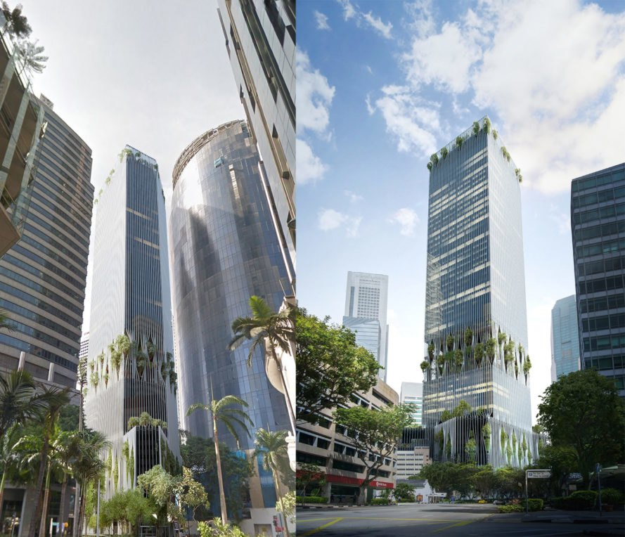 Singapore Tower by BIG, Singapore Tower by BIG and CRA, Singapore Tower CapitaLand, Singapore Tower by CRA, Bjarke Ingels Group in Singapore, Singapore new development, Singapore mixed use development