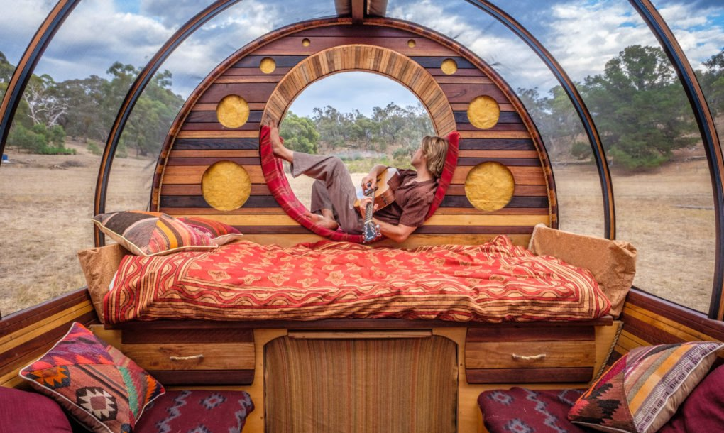 Steve Areen S Incredible Diy Wagon Home Built With Mostly