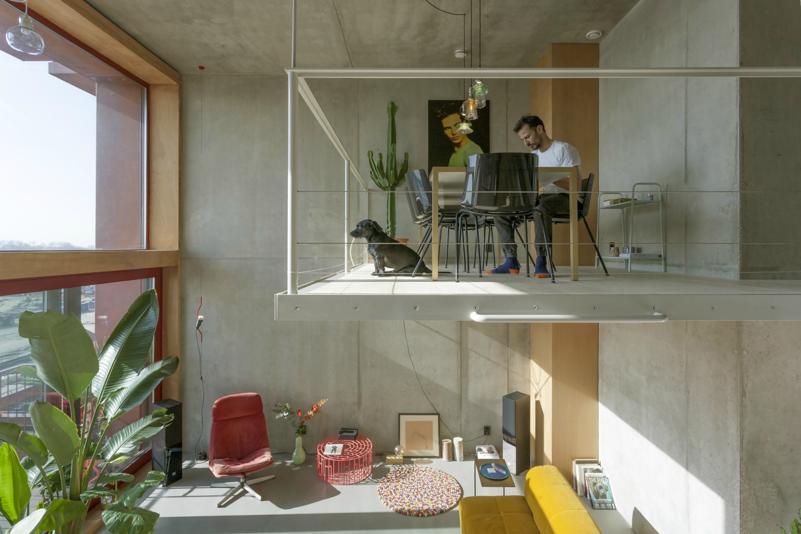 Amsterdam's Efficient Superlofts Adapt To Homeowners