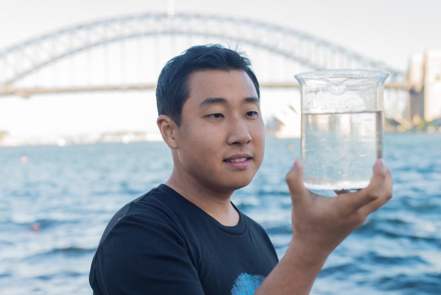Graphair, graphene, graphene filter, water filter, clean water filter, clean water, access to clean water, safe water, safe drinking water, CSIRO, drink Sydney Harbor water, filtering dirty water, filtering water, drinkable water
