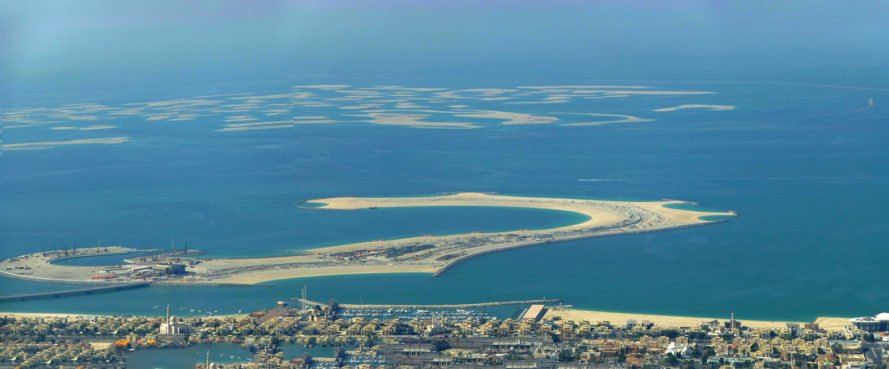 The World, Dubai, Jumeirah, United Arab Emirates, island, islands
