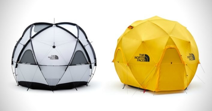 The North Face unveils a geodesic tent that can withstand 60 mph winds