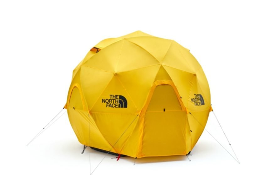 The North Face Geodome 4 Tent geodome tents northface tents c&ing tents  sc 1 st  Inhabitat & The North Face unveils a geodesic tent that can withstand 60 mph ...