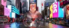 Formlabs, Marcelo Coelho, Aranda Lasch, Times Square Alliance, New York City, Valentines New York City, Valentines Heart, Valentines Times Square, Valentine Heart Time Square, Times Square heart,