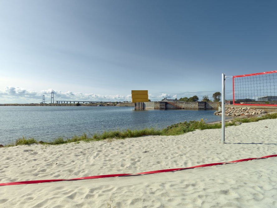 Water Sports Center Halsskov, Water Sports Center Halsskov by Sweco Architects, Sweco Architects, Denmark, water sports center, port, beach volleyball