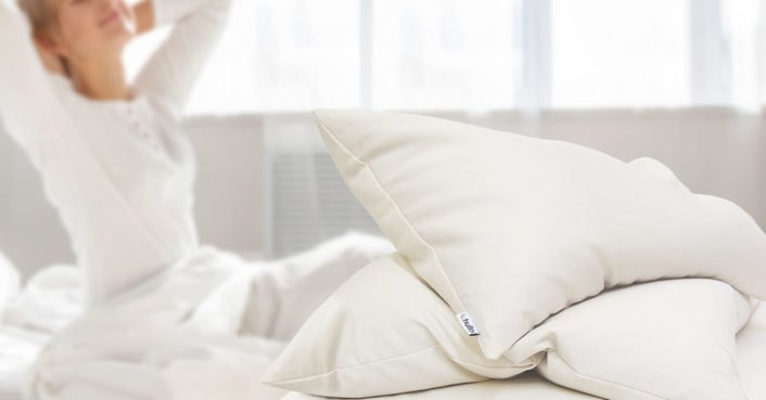 Buckwheat pillows offer a good night's sleep without hurting the environment