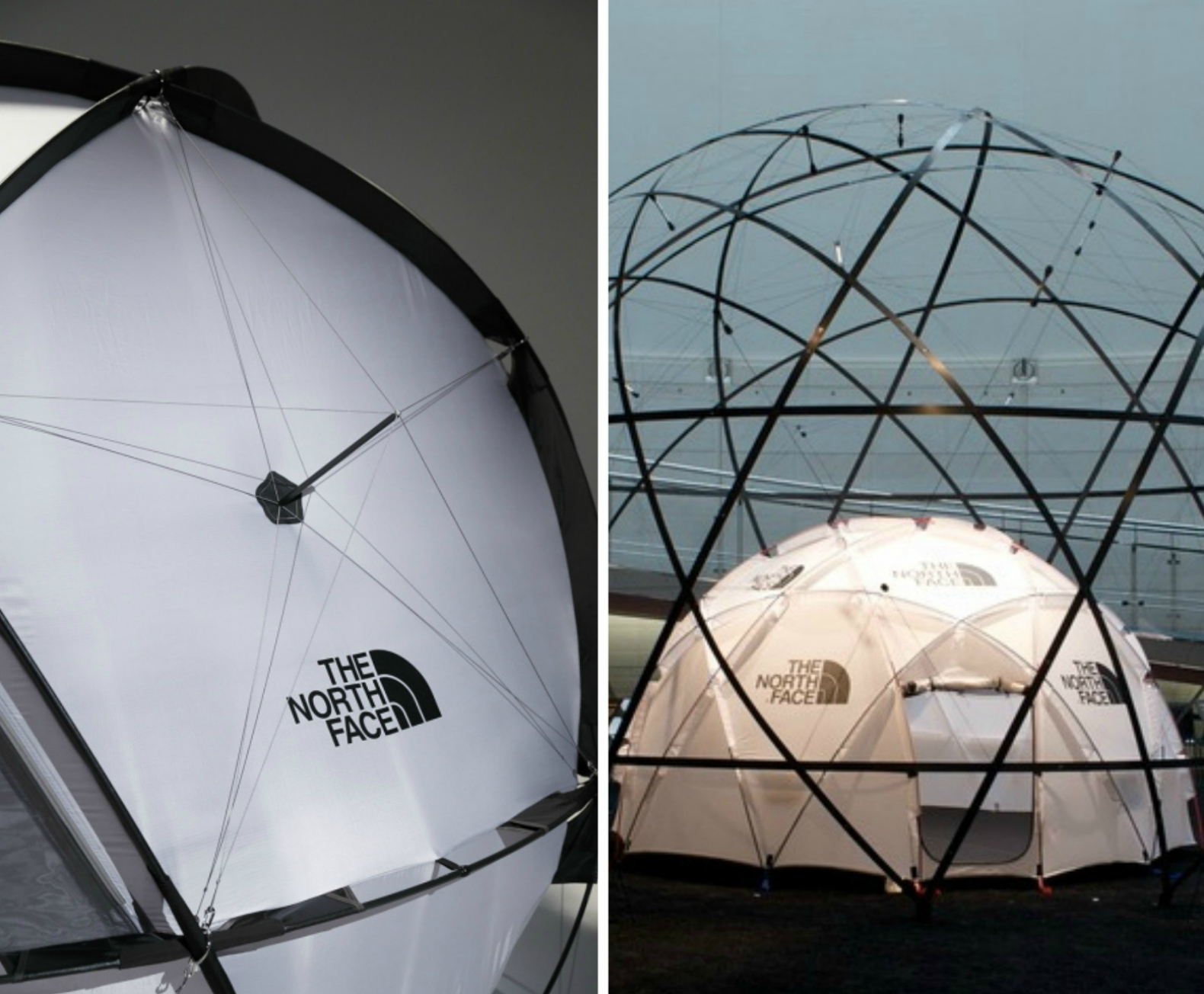 38a07dd7f The North Face unveils a geodesic tent that can withstand 60 mph winds