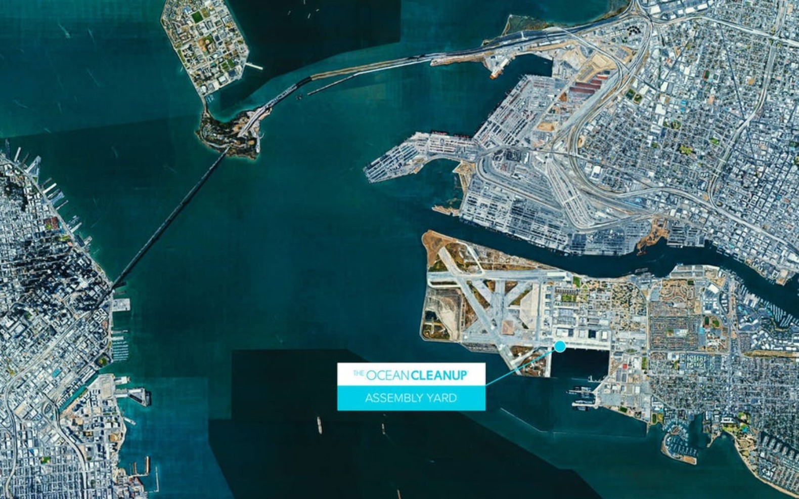 The Ocean Cleanup launches San Francisco base in Pacific trash-busting bid