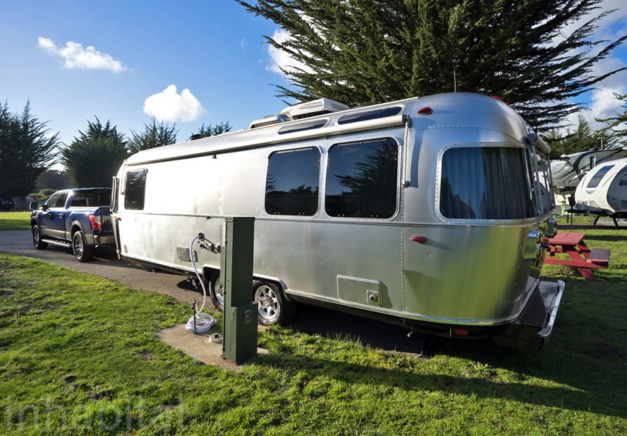 Airstream, Airstream Globetrotter, camper, 2018 Airstream Globetrotter, tiny house, tiny home, mobile home, travel trailer, trailer home, trailer house, Santa Cruz North / Costanoa KOA, Costanoa, KOA