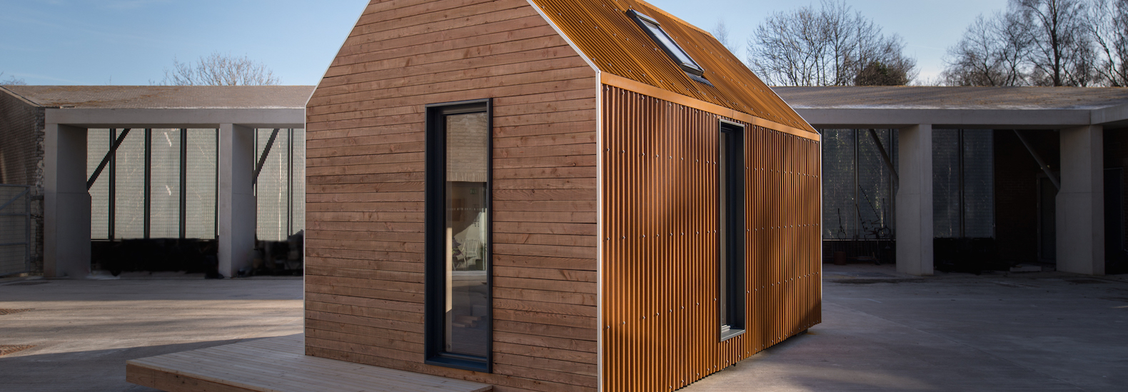 Charmant This Prefab Cabin Is Designed To Take You Off Grid In The Scottish Highlands