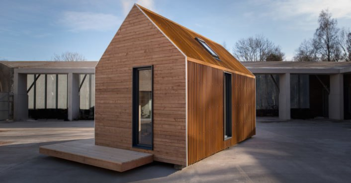 This prefab cabin is designed to take you off grid in the Scottish Highlands