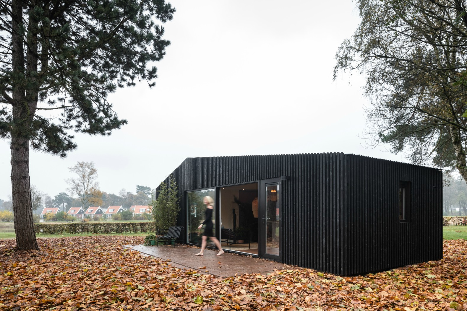 The Buitenhuis is a tiny house you can rent in the woods of the ...