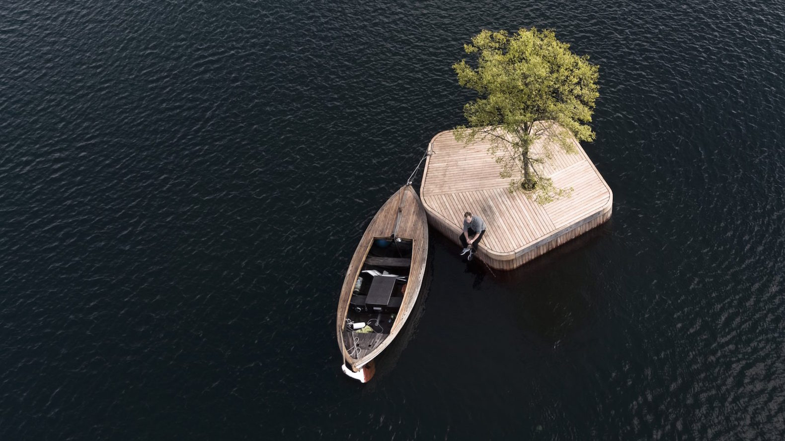 "This hand-built island is the start of Copenhagen's ""parkipelago"" of floating public spaces"
