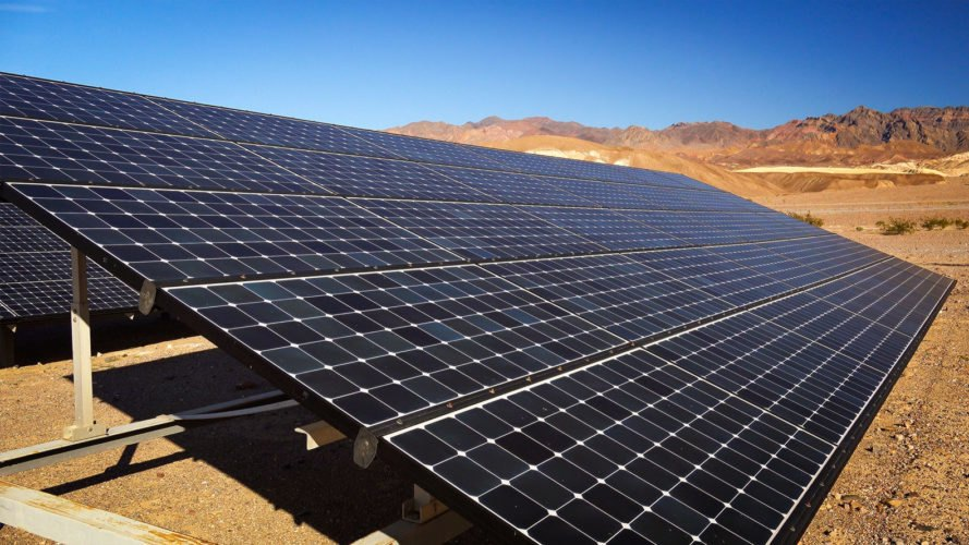 Death Valley, Death Valley National Park, solar panel, solar panels, solar energy, solar power