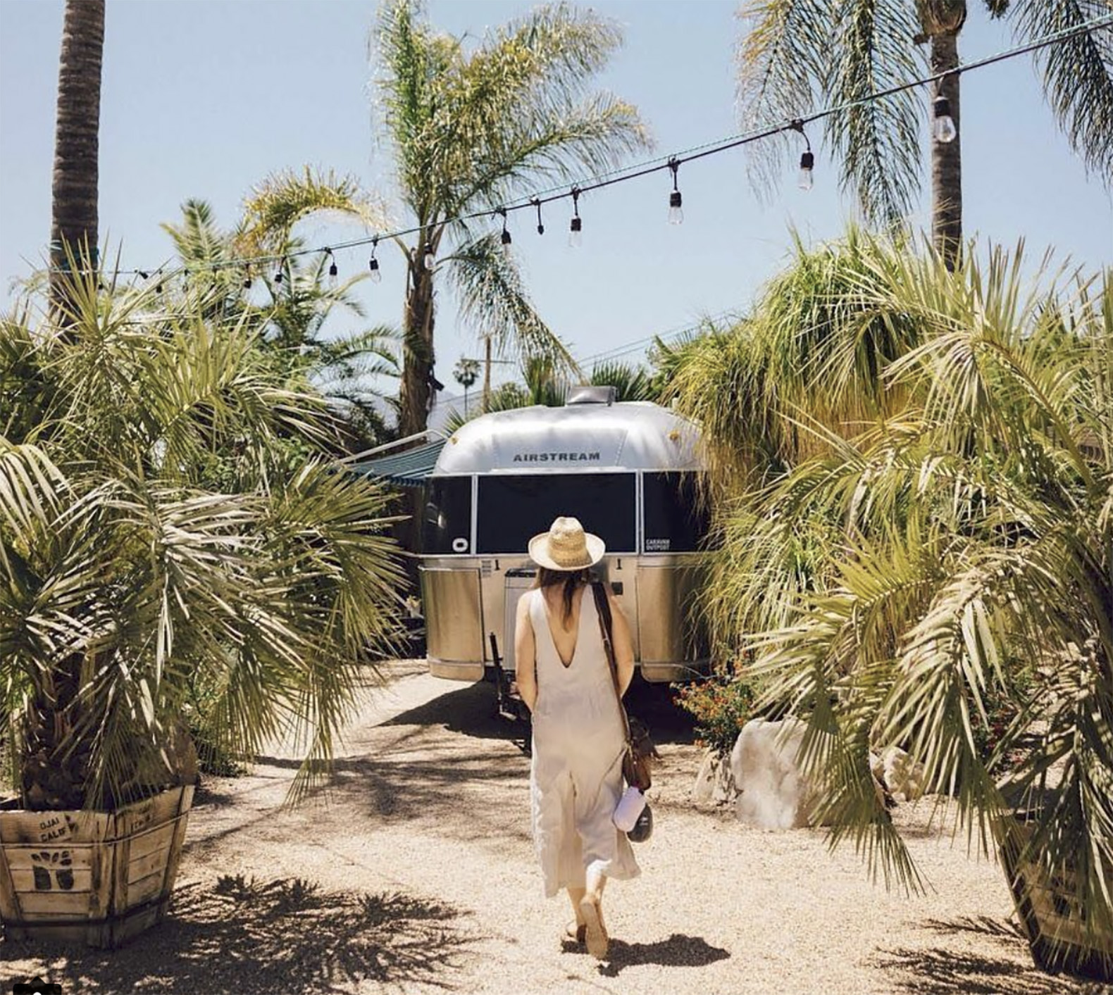 This dreamy boutique hotel in California is made up of 11 refurbished Airstreams