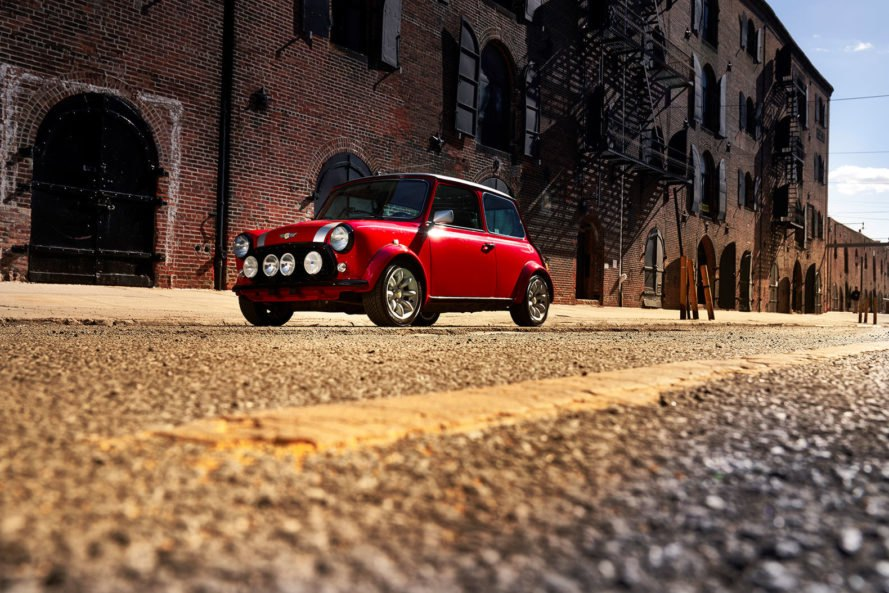 MINI, classic Mini Electric, Mini Electric, electric car, electric vehicle, EV, car, street