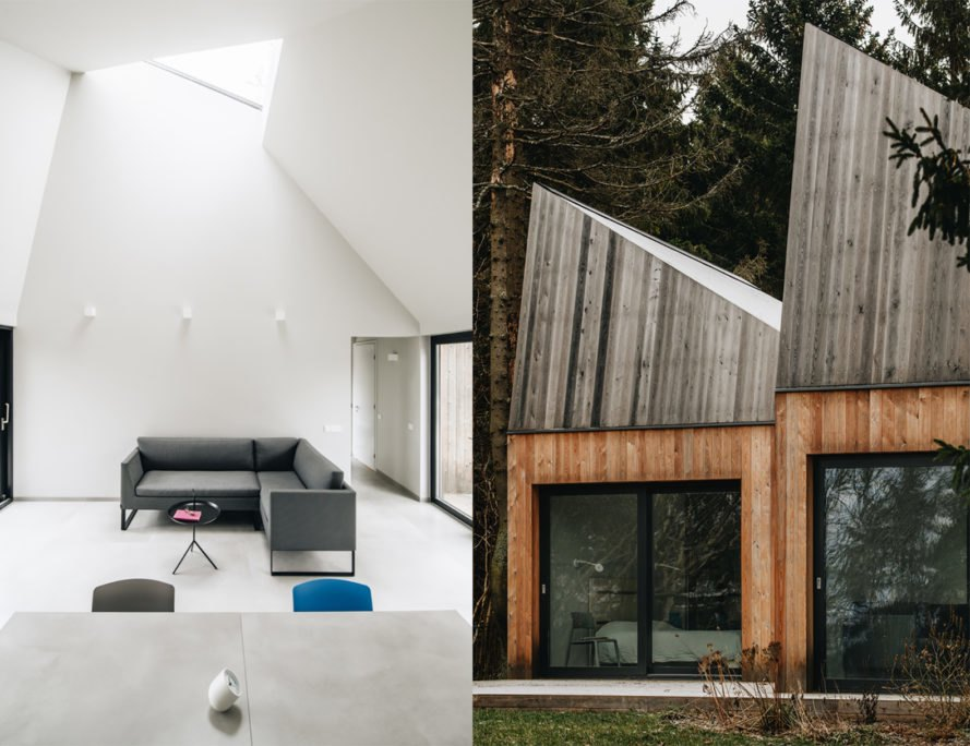 Cottage in Muraste by KUU architects, Cottage in Muraste, contemporary koda architecture, timber framed cabins in Estonia, KUU architects Estonia,