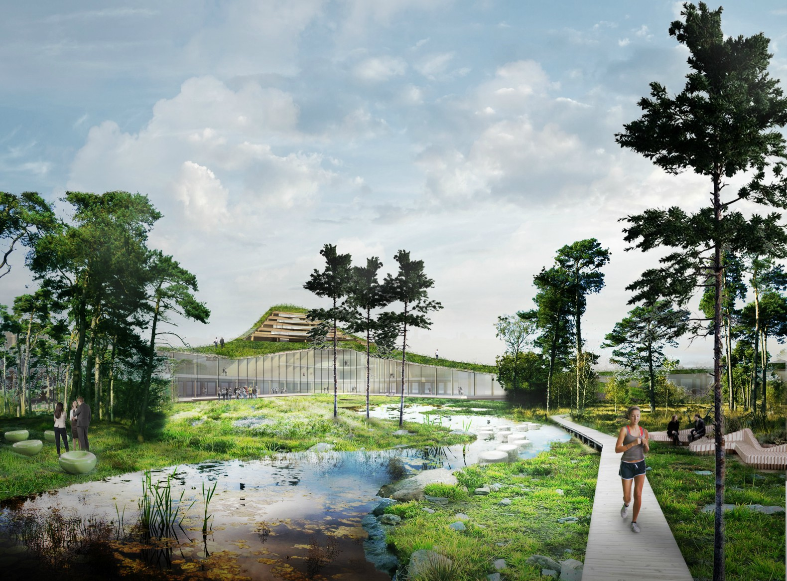 The Dutch Mountains Will Be The World S Largest Wooden