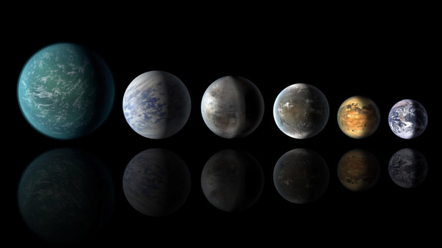 Exoplanet, exoplanets, habitable-zone planets, Earth, planets, space