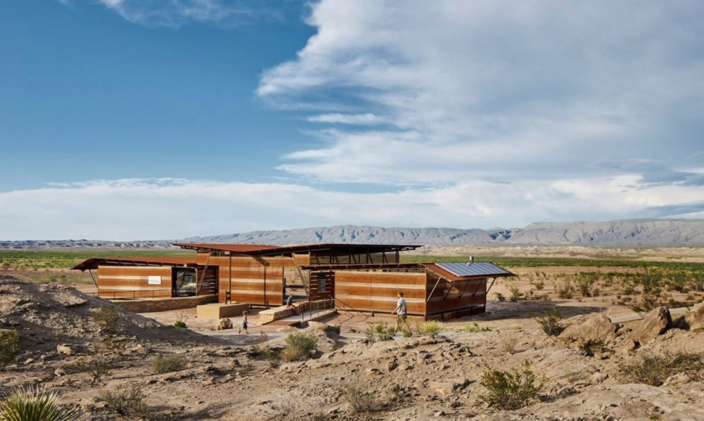 Off Grid Fossil Discovery Exhibit Camouflages Into The