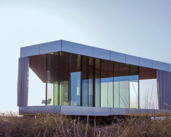 Glass Pavilion by OFIS Architects, Glass Pavilion by Guardian Glass, Guardian Glass and OFIS, Glass Pavilion retreat, Glass Pavilion in Gorafe desert, Glass Pavilion off grid retreat, glass architecture extreme temperatures