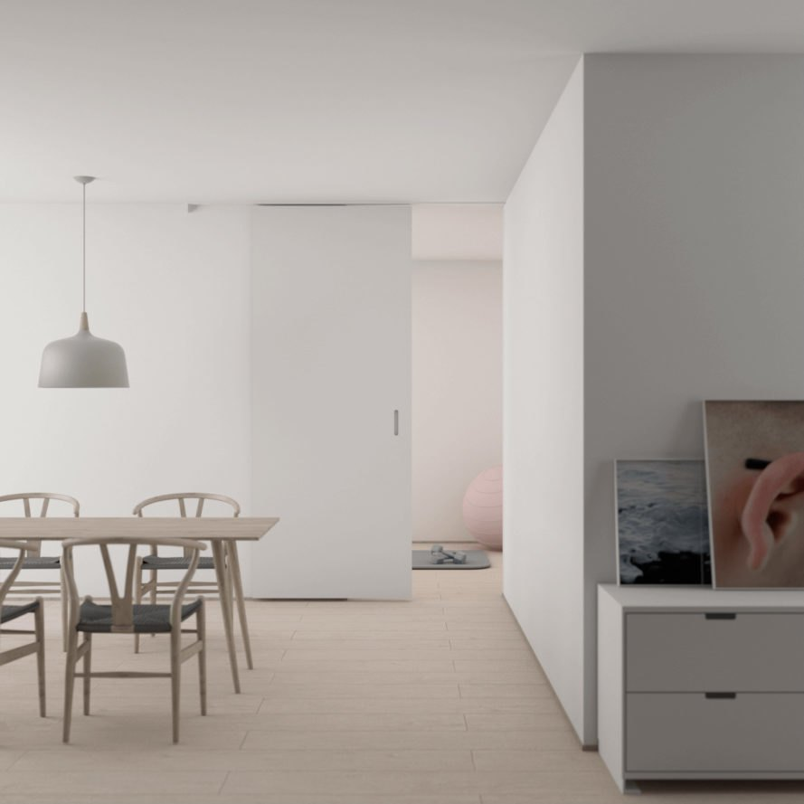Minimalist Apartment Design, Minimalist Dining Room, Apartment Design  Trends, Millennial Design Trends